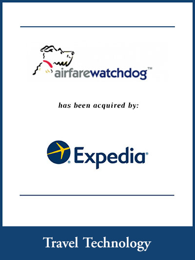 Airfarewatchdog.com has been acquired by Expedia