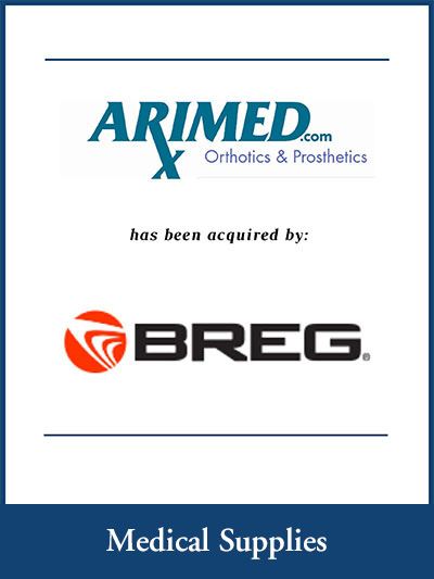 Arimedx.com has been acquired by Breg