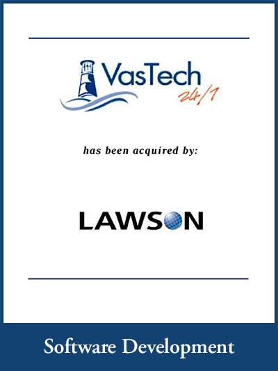 VasTech 24/7 has been acquired by Lawson