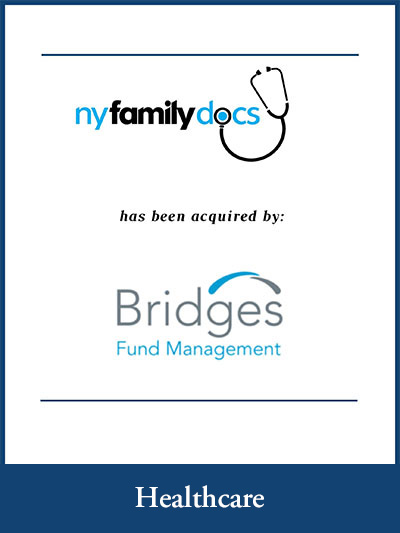 Nyfamilydocs has been acquired by Bridges Fund Management