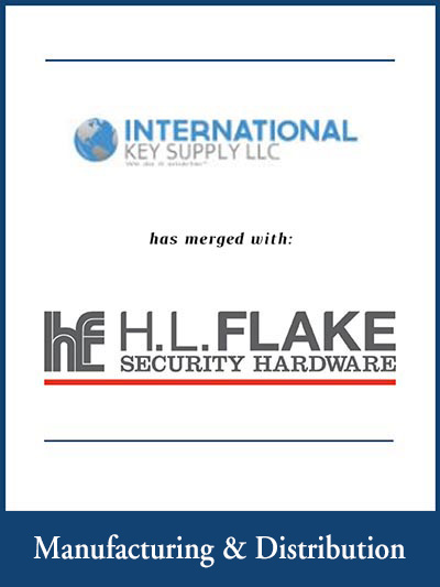 International key Supplu has been aquired by HL Flake Security Harware